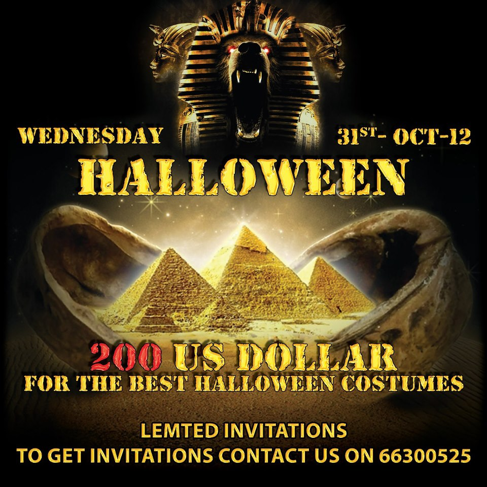 halloween party @ warehouse ''pulse'' - events - whatsupbahrain