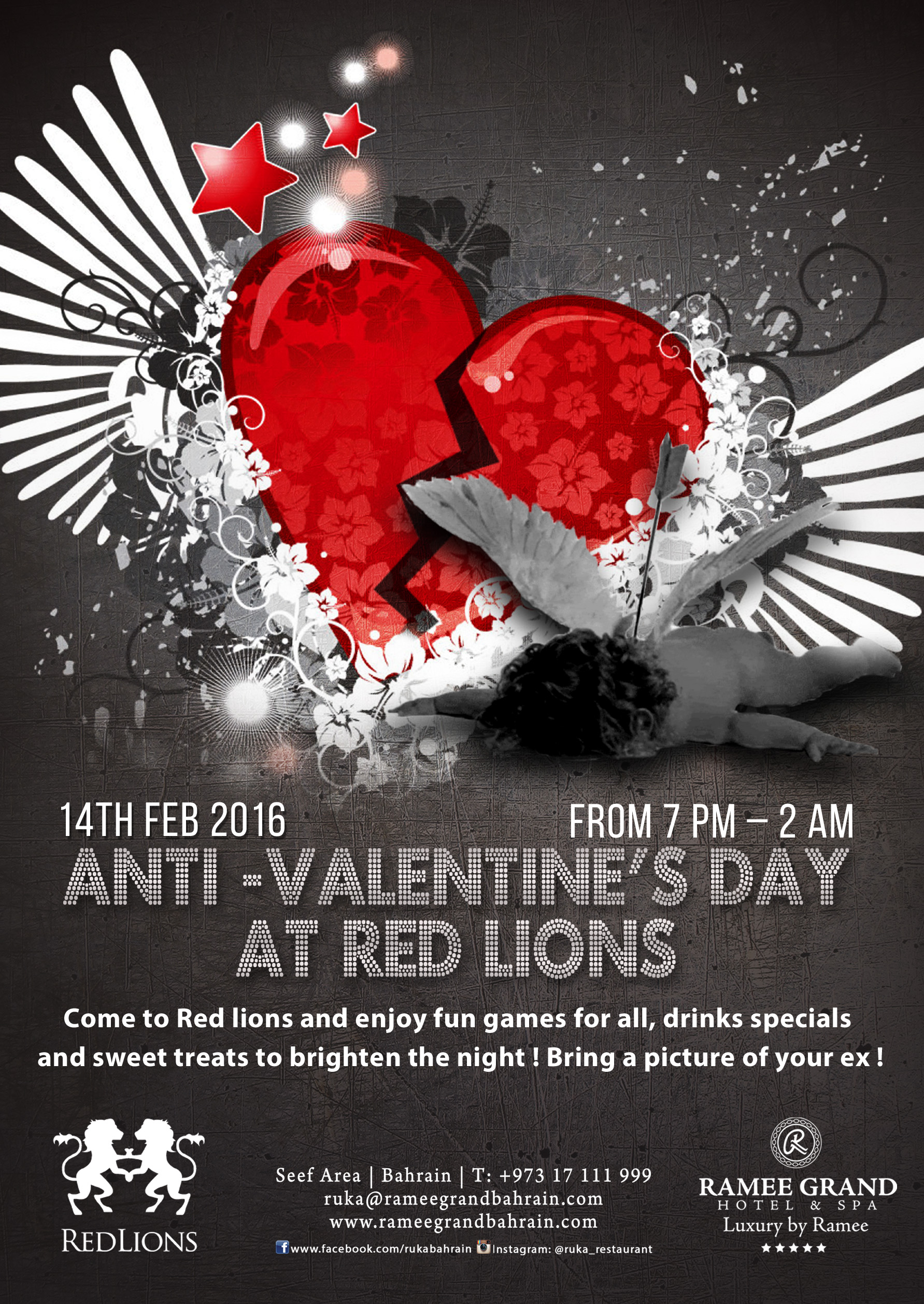 Anti Valentine S Party At Red Lions Events Whatsupbahrain Net